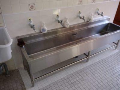 S保育園様 手洗い場改修工事
